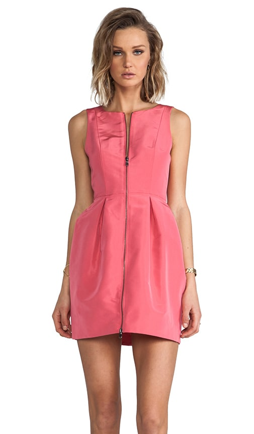 Silk Faille Sleeveless Dress