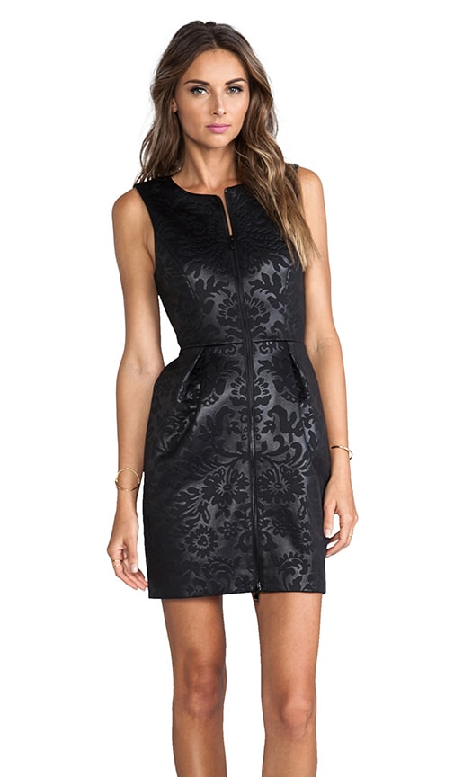 Tish Embossed Sleeveless Dress