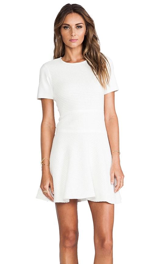 Vika Crochet Short Sleeve Flirty Dress