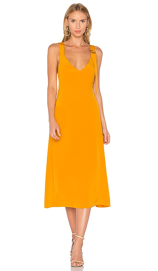 a62319c08 Tibi Trapeze Dress in Mango | REVOLVE