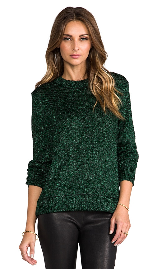 Chunky Lurex Sweater