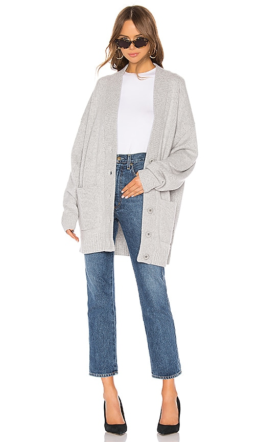 Oversized Cashmere Cardigan Coat