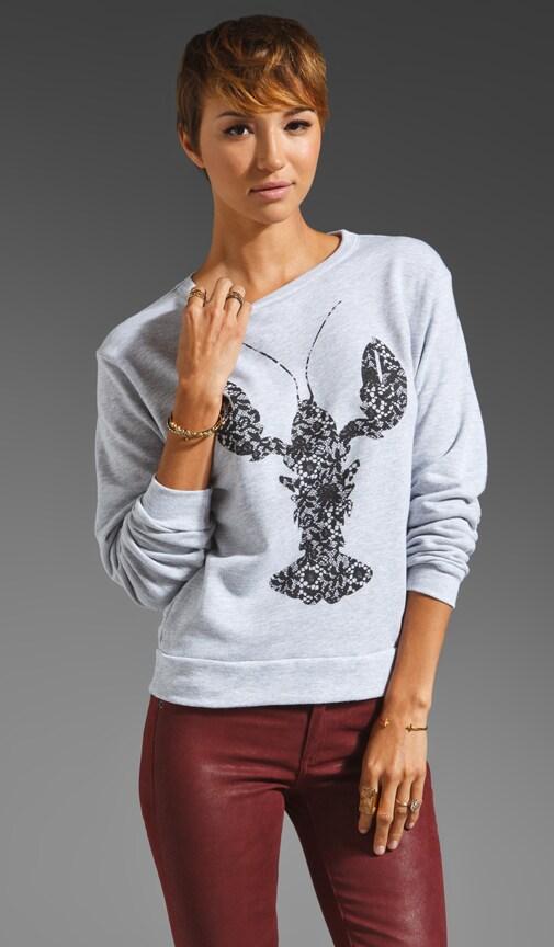Lobster Lace Sweatshirt