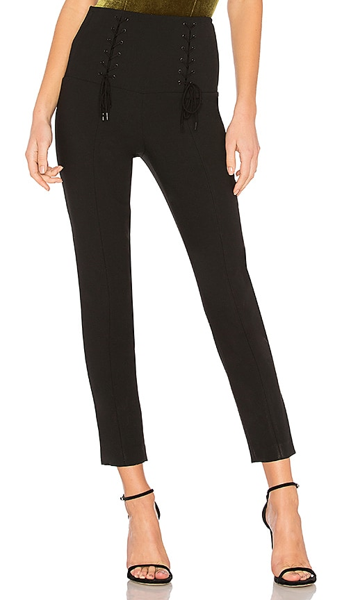 Tibi Anson Pant in Black