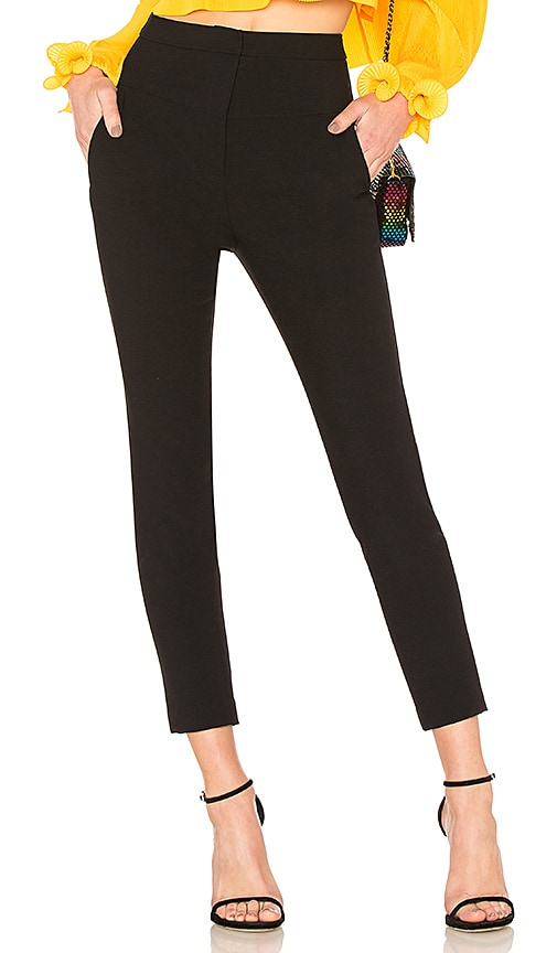 Tibi Jamie Pant in Black