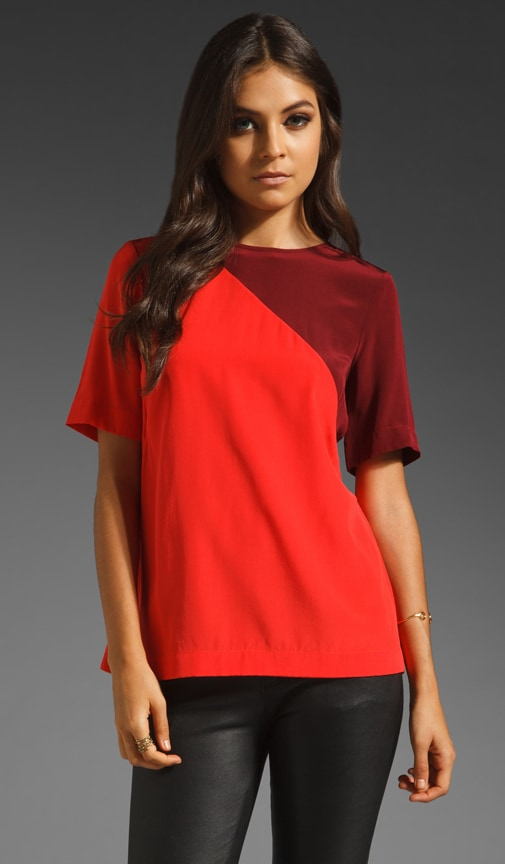 Colorblock CDC Top