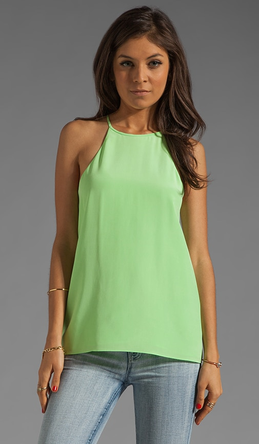 Solid Silk Halter