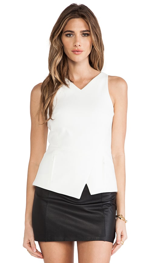 City Stretch Peplum Tank