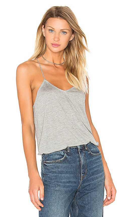 Tibi Jersey Cami in Gray