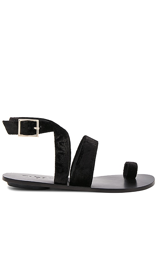 Tibi Hallie Sandal in Black
