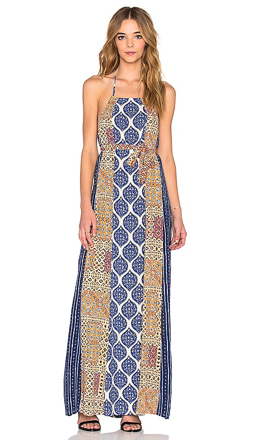 Tigerlily Hayati Maxi Dress in Blue
