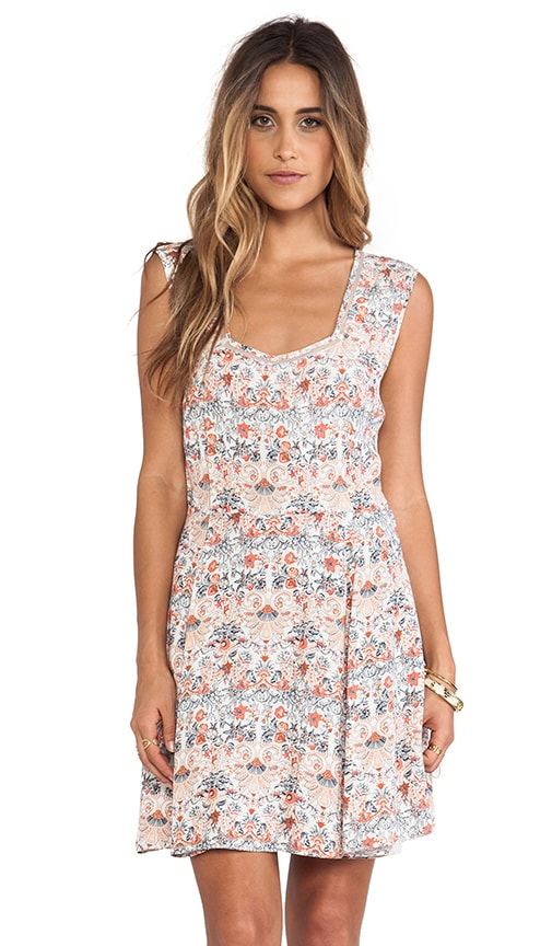 Italienne Floral Dress