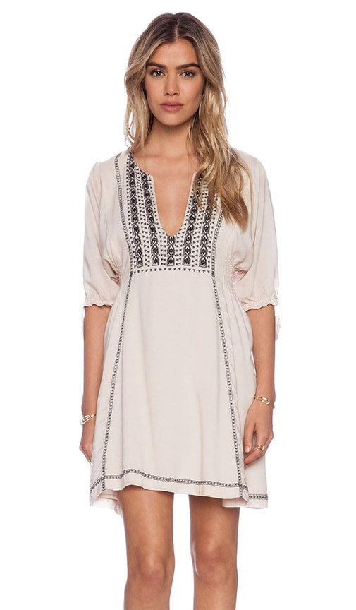 Genevieve Smock Dress