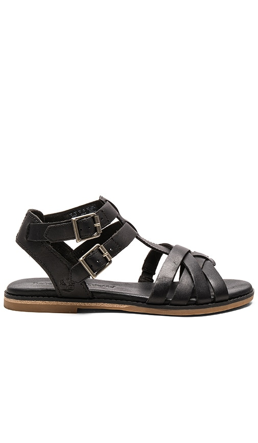 Timberland Caswell Fisherman Sandal in Black