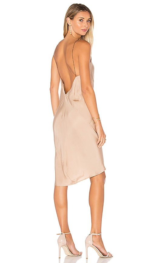 TITANIA INGLIS Ravine Slip Dress in Beige