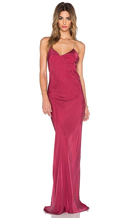 Clearance Explore x REVOLVE Long Plunge Dress in Black Titania Inglis Buy Cheap Nicekicks Outlet Visa Payment Cheap Huge Surprise T4qfS8