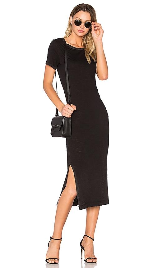 TYLER JACOBS Laurel Dress in Black