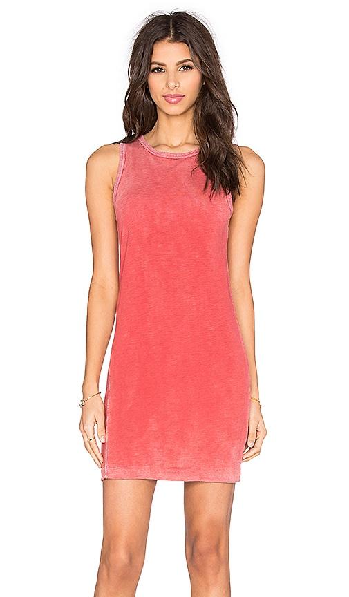 TYLER JACOBS Spector Tank Dress in Pink