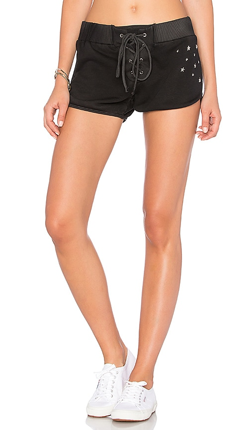 TYLER JACOBS Warner Short in Black