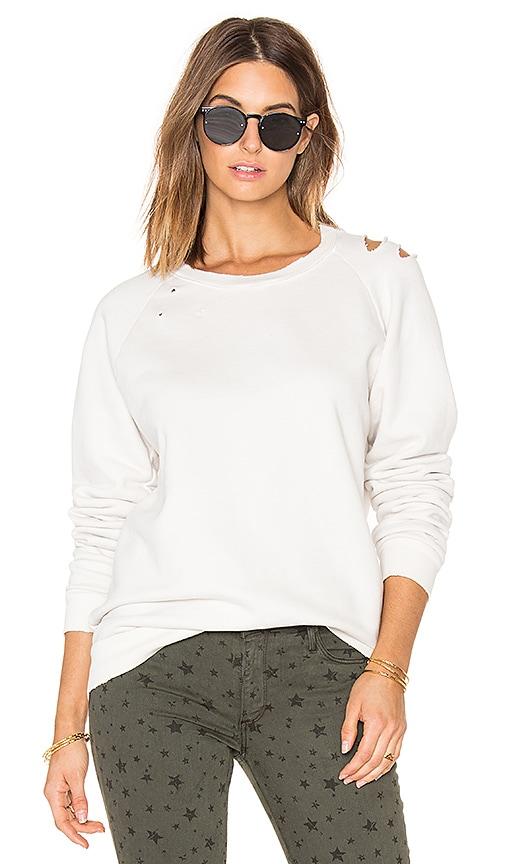 TYLER JACOBS Odyn Sweatshirt in White