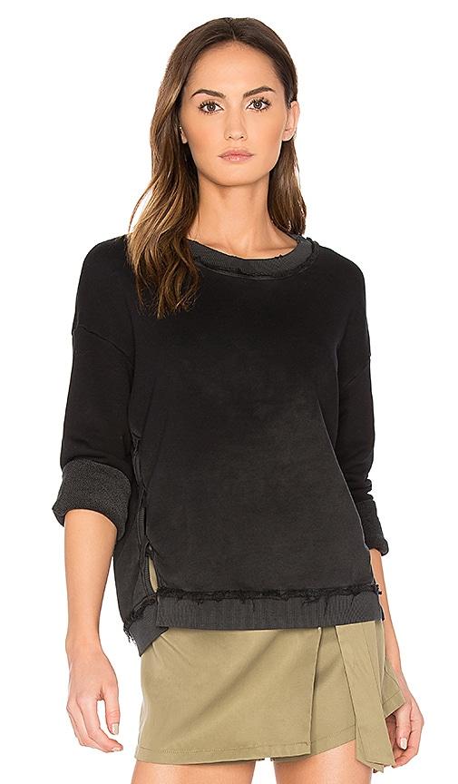 TYLER JACOBS Decker Sweatshirt in Black