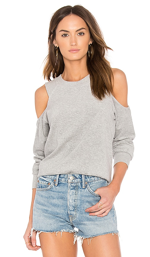 TYLER JACOBS Ambrose Pullover in Gray