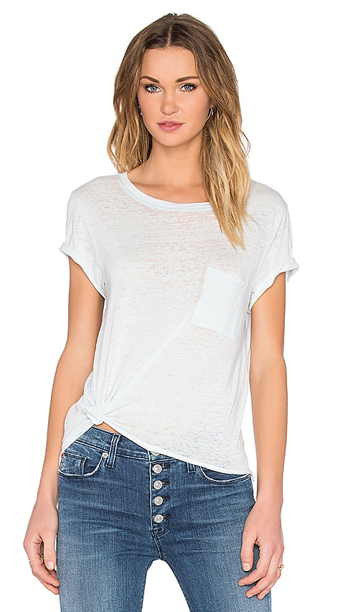 TYLER JACOBS Gabels Tee in Blue