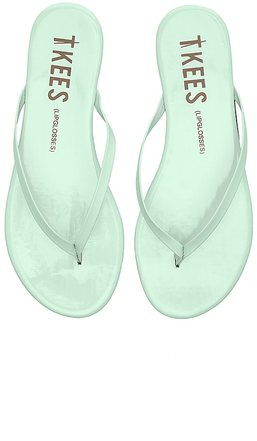 TKEES Sandal in Seafoam