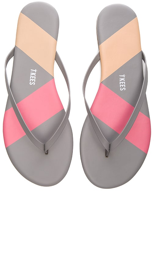 TKEES Barre Sandal in Pink