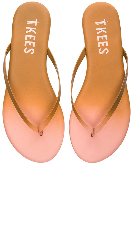 TKEES Powders Sandal in Peach