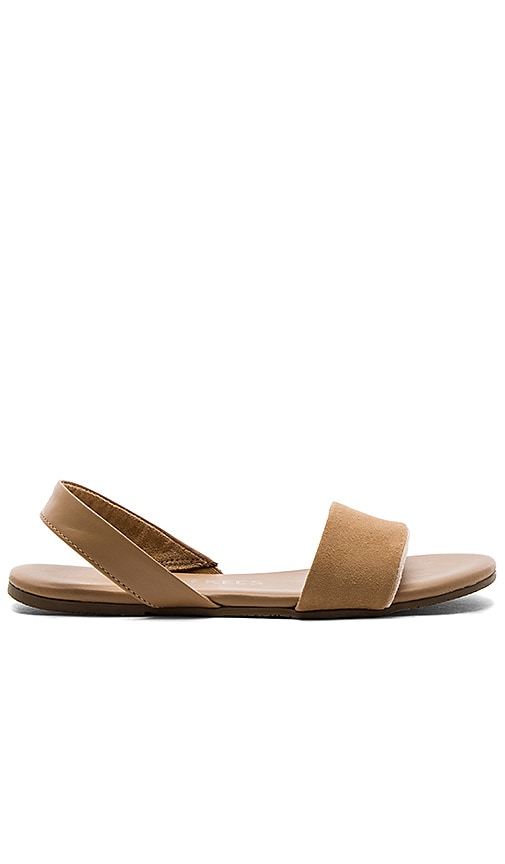 TKEES Charlie Sandal in Beige