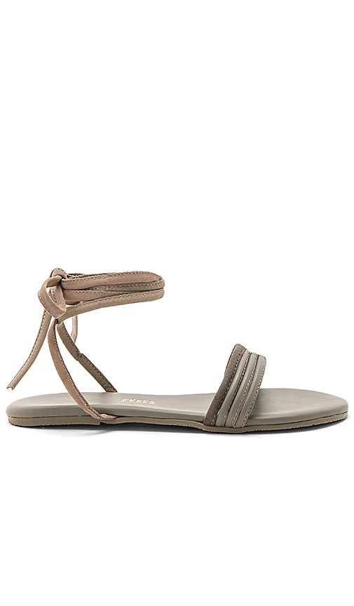 TKEES Olly Sandal in Charcoal
