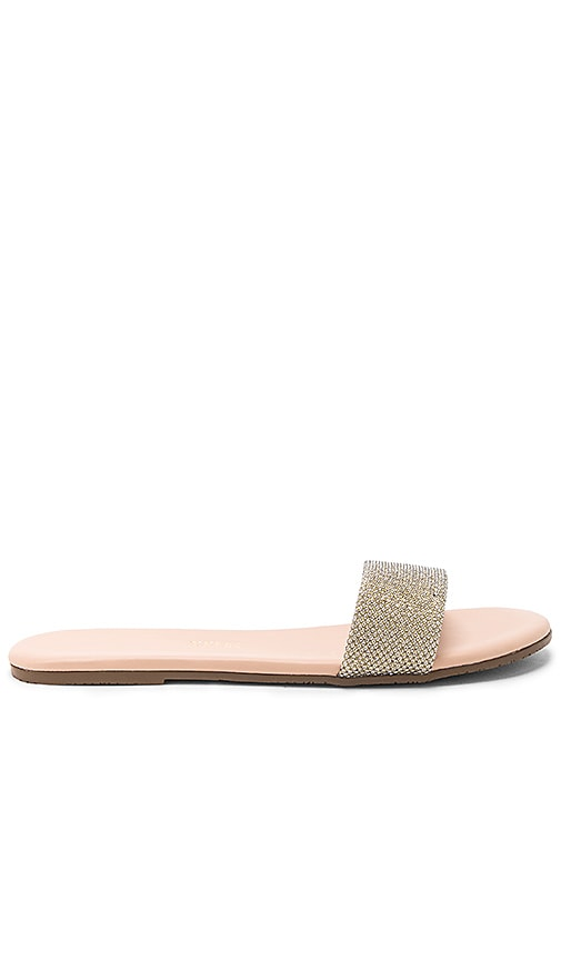 TKEES Alex Sandal in Metallic Gold