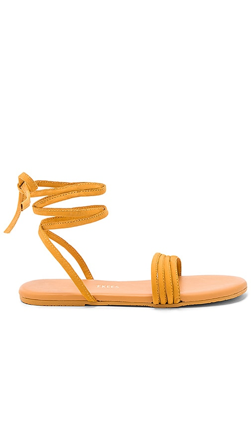 TKEES Olly Sandal in Mustard