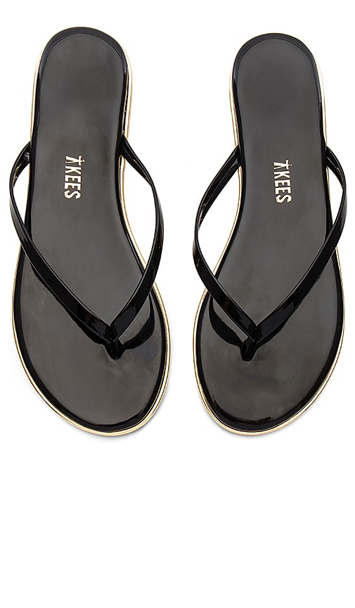 TKEES Studio Sandal in Black