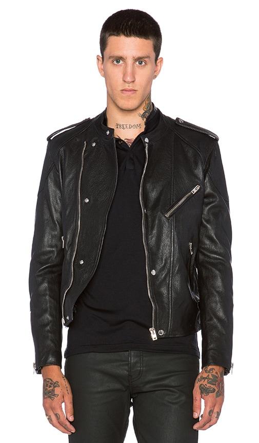 7dd506f6f5 Washed Lamb Leather Motorcycle Jacket. Washed Lamb Leather Motorcycle Jacket.  The Kooples