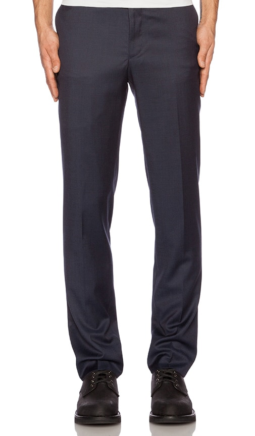 The Kooples Tone Suit Trousers in Blue