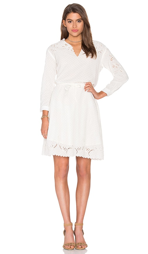 The Kooples Eyelet Dress in Cream