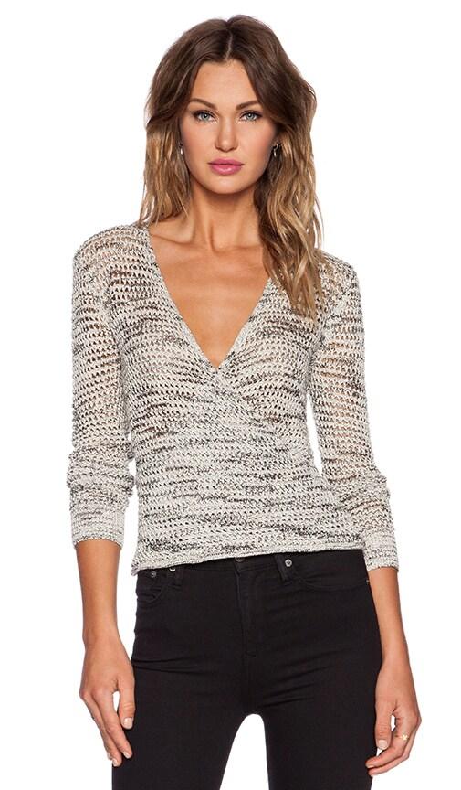 Surplice Sweater