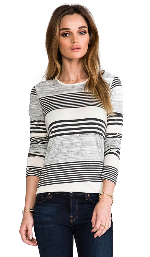 Long Sleeve Round Bottom Tee