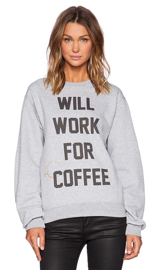 Coffee Bum 90's Pullover