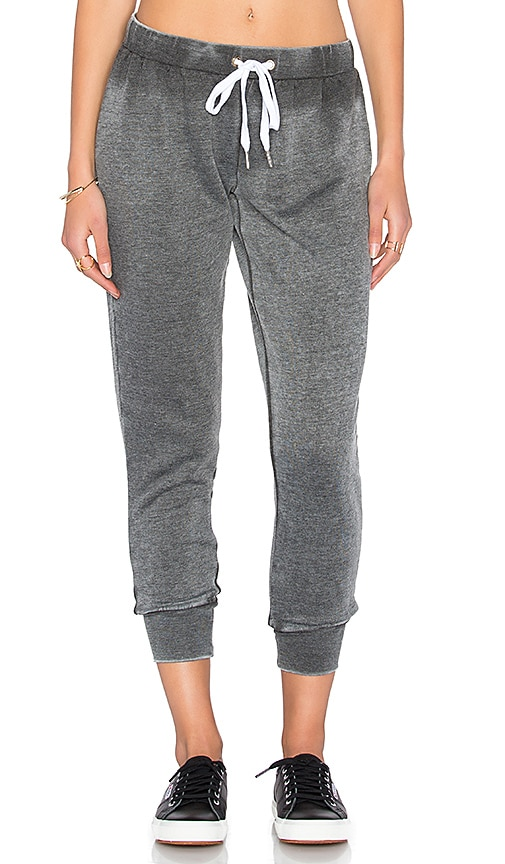 The Laundry Room Cozy Crew Sweatpant in Charcoal