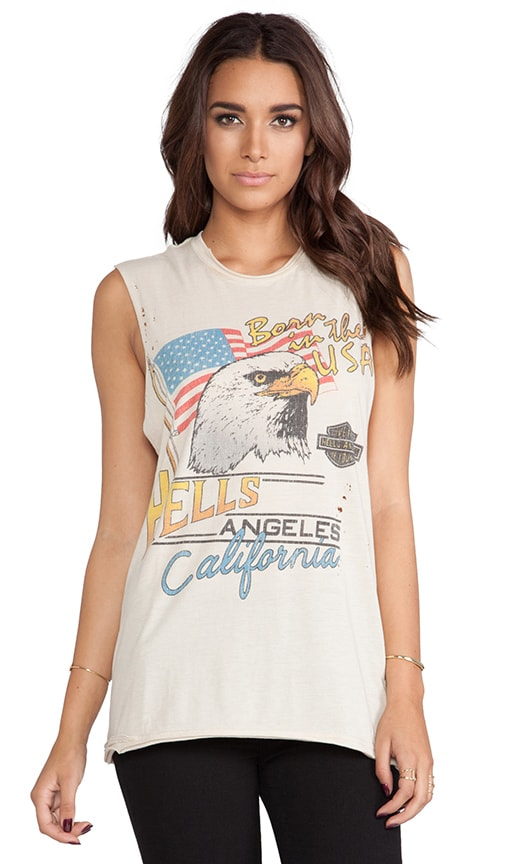 Born In The USA Thrasher Muscle Tee