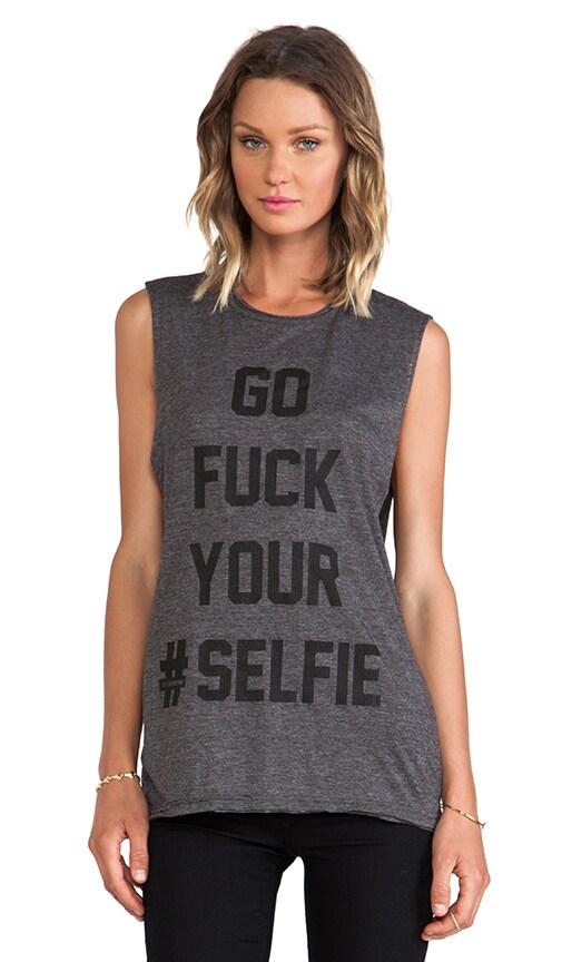 Selfie Thrashed Muscle Tee