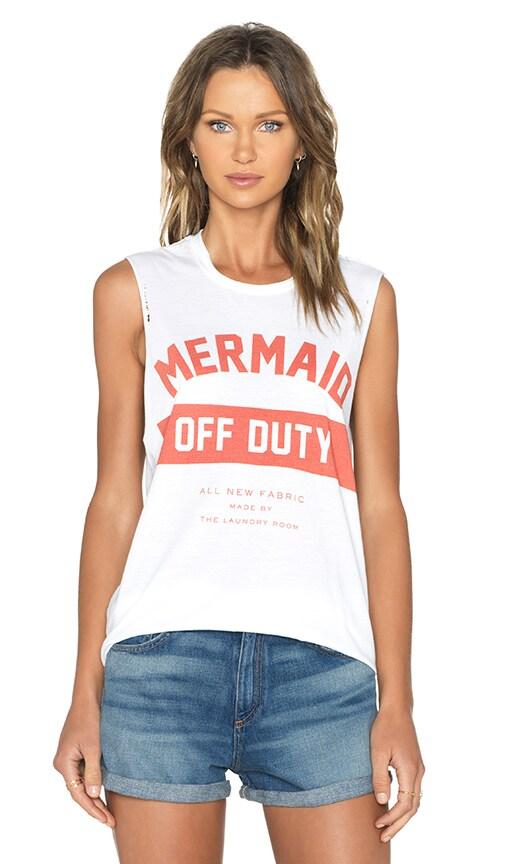 Mermaid Off Duty Uniform Muscle Tank