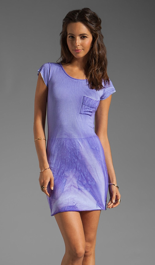River Wash Cap Sleeve Tee Dress