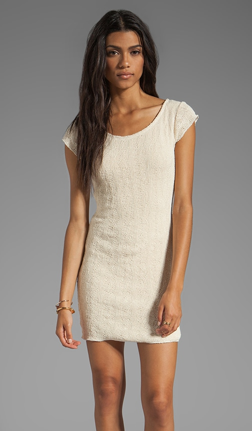 Tear Away Cap Sleeve Tee Dress