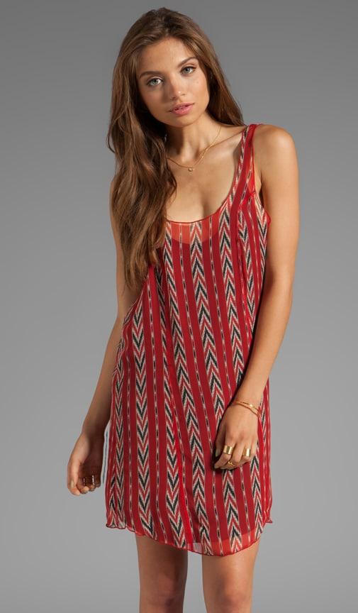 Chevron Slip Dress