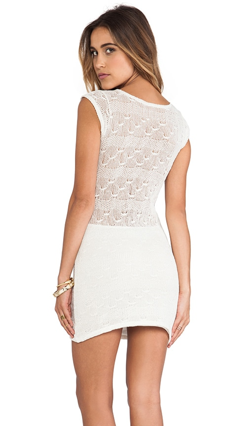Crochet Cap Sleeve Dress