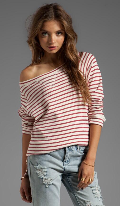 Stripe Sweatshort